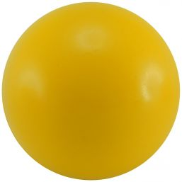 Stressball Ø 63 mm yellow 9355