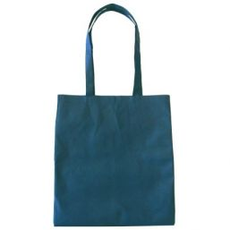 Shopper with long handles blue 9675