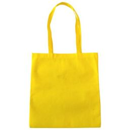 Shopper with long handles yellow 9675