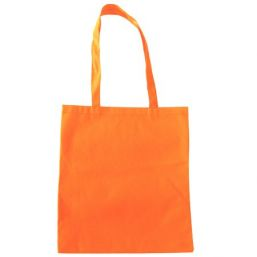 Shopper with long handles orange 9675