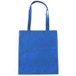 Shopper with long handles royal blue 9675