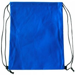 Backpack with drawstring royal blue 9676