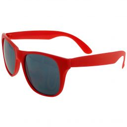 Trendy sunglasses with UV protection red 9691