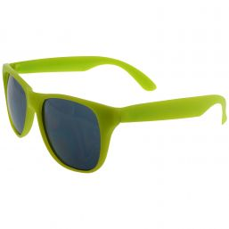 Trendy sunglasses with UV protection lime 9691