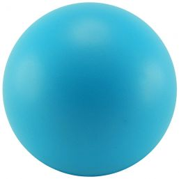 Stressball Ø 63 mm light blue 9355