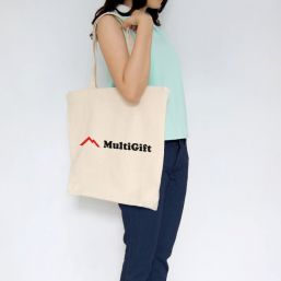 Cotton bag with long handles 9775