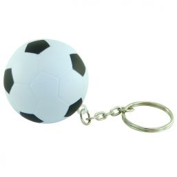 Additional image of Keyring with anti stress football
