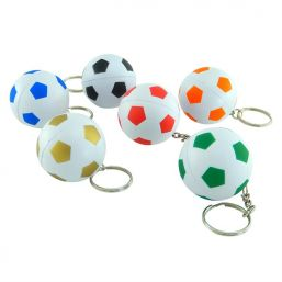 Impression image of Keyring with anti stress football